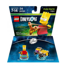 LEGO DIMENSIONS PAQUETE DE DIVERSION LOS SIMPSONS BART