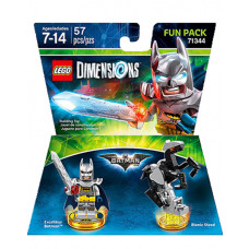 LEGO DIMENSIONS PAQUETE DE DIVERSION DC COMICS EXCALIBUR BATMAN