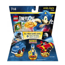LEGO DIMENSIONS PAQUETE DE NIVEL SONIC THE HEDGEHOG
