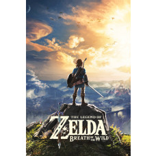 MAXI POSTER THE LEGEND OF ZELDA BREATH OF THE WILD