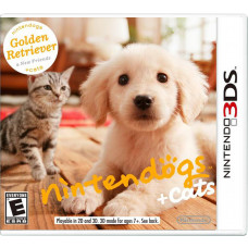NINTENDOGS   CATS GOLDEN RETRIEVER