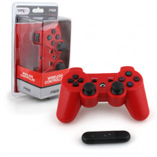PS3 WIRELESS CONTROLLER RED 2.4 GHZ