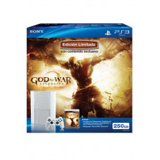 CONSOLA NUEVO PLAYSTATION 3 SLIM NEGRO 250GB GOD OF WAR ASCENSION