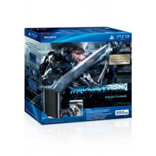 CONSOLA NUEVO PLAYSTATION 3 SLIM NEGRO 250GB METAL GEAR RISING REVENGANCE