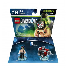 LEGO DIMENSIONS PAQUETE DE DIVERSION DC COMICS BANE