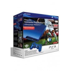 CONSOLA PLAYSTATION 3 SLIM AZUL 120GB PRO EVOLUTION SOCCER 2012