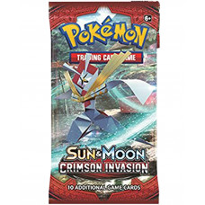 SOBRE POKEMON TRADING CARD GAME SUN AND MOON CRIMSON INVASION