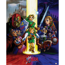 MINI POSTER THE LEGEND OF ZELDA OCARINA OF TIME
