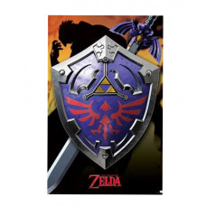 MAXI POSTERS THE LEGEND OF ZELDA HYLIAN SHIELD