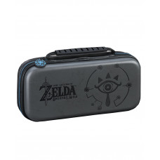 ESTUCHE RIGIDO NINTENDO SWITCH ZELDA BREATH OF THE WILD SHEIKAH NEGRO