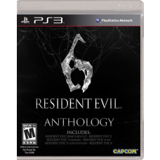 RESIDENT EVIL 6 ANTHOLOGY ED