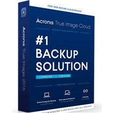 ARCONIS TRUE IMAGE CLOUD LICENCIA PARA 1 COMPUTADORA Y 3 DISPOSITIVOS - DESCARGA DIGITAL
