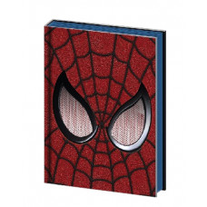 LIBRETA SPIDERMAN MASCARA ROJA