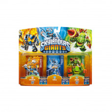 SKYLANDERS GIANTS PAQUETE TRIPLE IGNITOR CHILL Y ZOOK