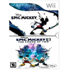 TWO PACK EPIC MICKEY