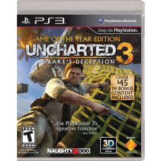 UNCHARTED 3 GAME OF THE YEAR