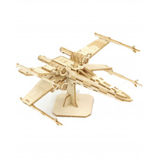 PUZZLE WOOD MODEL STAR WARS X-WING