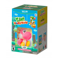 YOSHIS WOOLLY WORLD AND AMIIBO PINK YOSHI